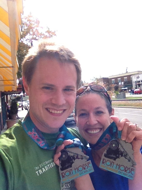 Iron Horse Half-Marathon (Oct. 2012)
